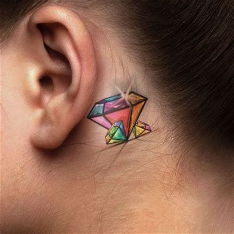 diamond tattoo under the eye meaning check out all these diamond tattoo designs