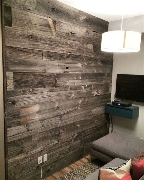 the inspiration chronicles barnwood accent walls reclaimed grey barn board feature wall by barnboardstore