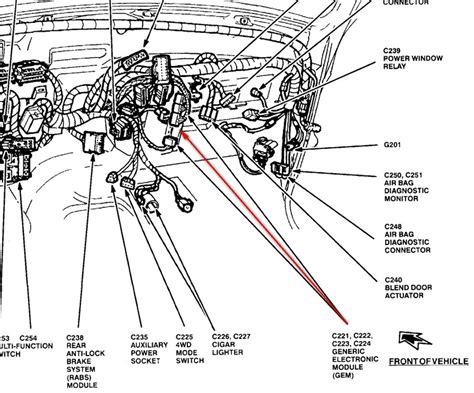 1993 ford ranger wiring harness wiring diagram with