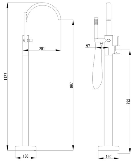miscelatori vasca da bagno miscelatore a colonna per vasche da bagno