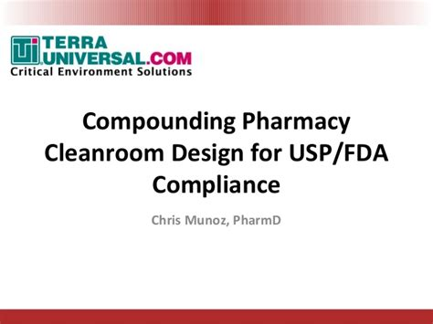 clean room design ppt usp 797 800 cleanroom compliance by terra universal