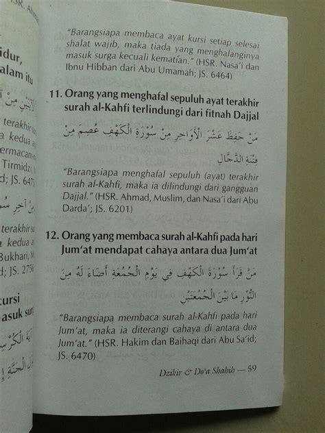 Kumpulan Doa Doa Shohih buku saku dzikir doa shahih dari shahih adabul mufrad