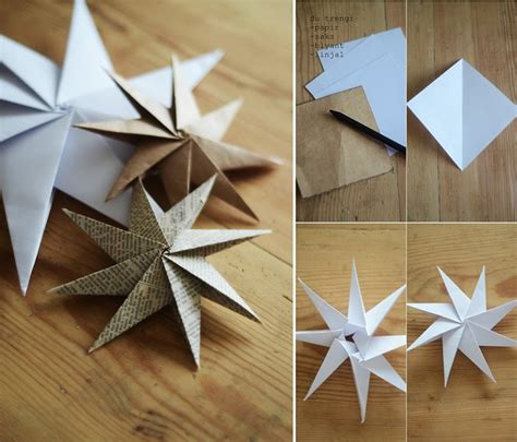 home decoration with paper diy decorative paper star home design garden