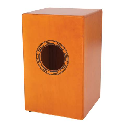 cajon and cajon performance percussion pp142 cajon and padded carry bag at