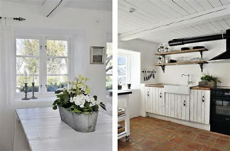 swedish farmhouse style atmosfere nordiche in cucina blog di arredamento e