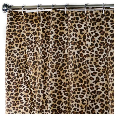 leopard print shower curtain animal print shower curtains popular bath safari stripe