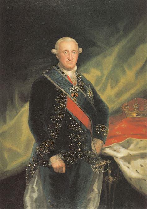 biografia de carlos i i retrato de carlos iv artehistoria
