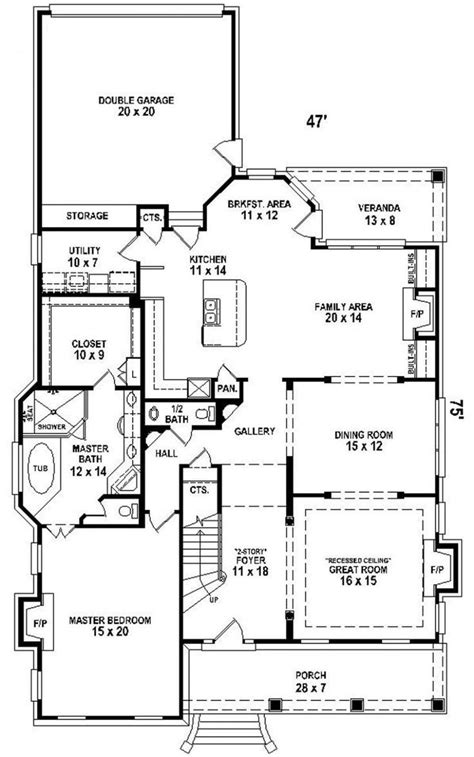 Narrow 2 Story House Plans by Quot 2 Story Quot House Plan Quot Narrow Lot Quot Quot Courtyard Quot Quot Downstairs
