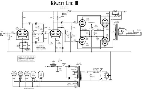 Power Lifier Acoustic el84 push pull lifier power supply schematic get