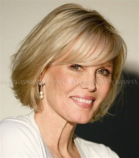 hairstyles for growing out bangs 60 year old medium haircuts for 60 year old woman pertaining to wish