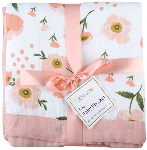 Floral Print Blanket muslin toddler blanket quot floral print quot bamboo everything