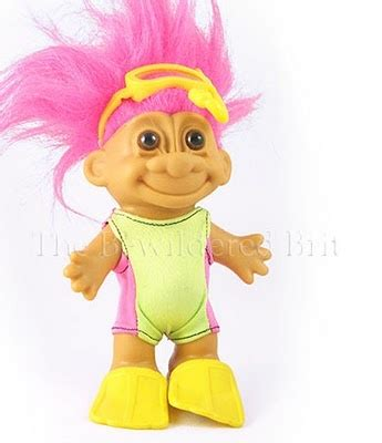 90s troll dolls with gems scuba troll saladitos pinterest
