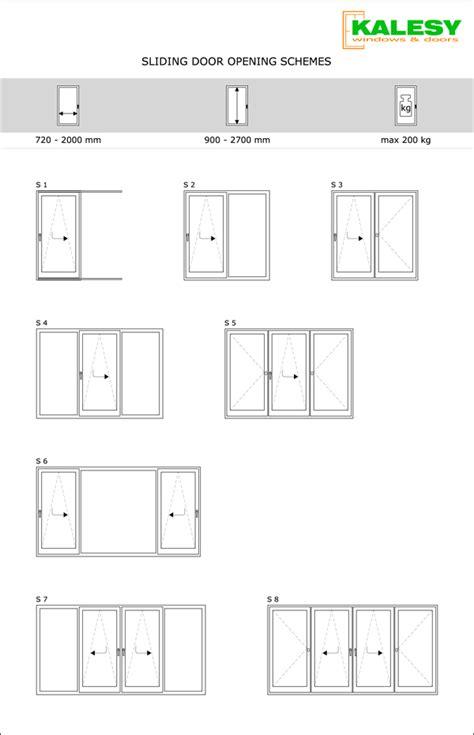 sliding door opening sliding doors