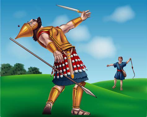 imagenes biblicas de david y goliat mitos y leyendas david y goliat