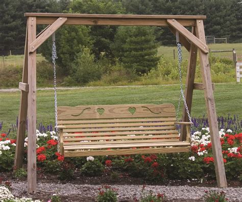 how to make a swing stand amish made a frame swing stand amish porch swings 31340