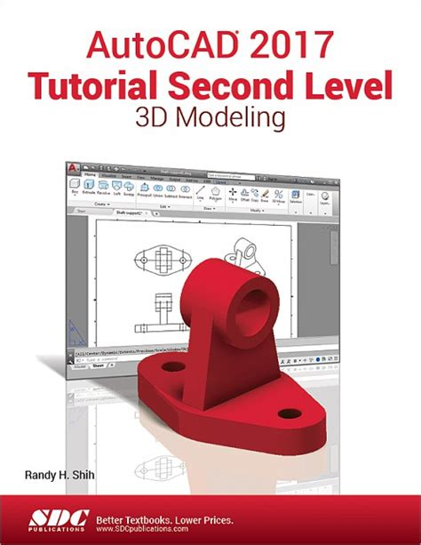 autocad tutorial book autocad 2017 tutorial second level 3d modeling book isbn