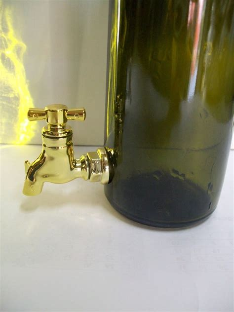 bottiglia con rubinetto bottiglia olio con rubinetto tonda enotecnica albese