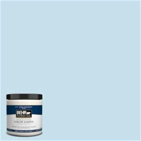 behr premium plus 8 oz pph 40 lovely blue sky interior exterior paint sle pph 40 pp the