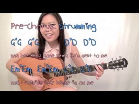 tutorial guitar taylor swift quot i knew you were trouble quot taylor swift easy guitar
