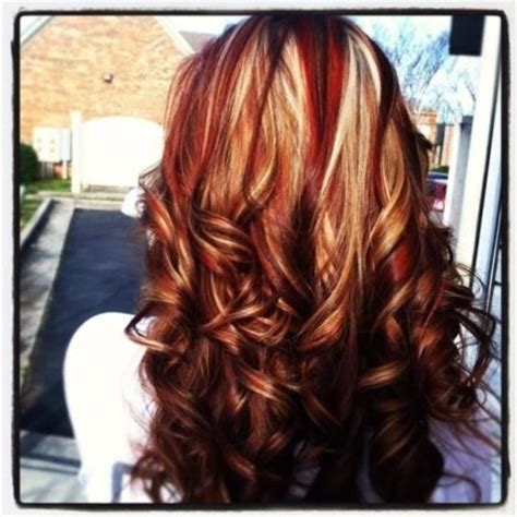 hairstyles with three colors multiple color highlights hair pinterest of 3 color