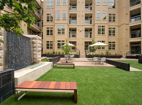 apartment courtyard amli ridgegate 187 blvd suites corporate housing