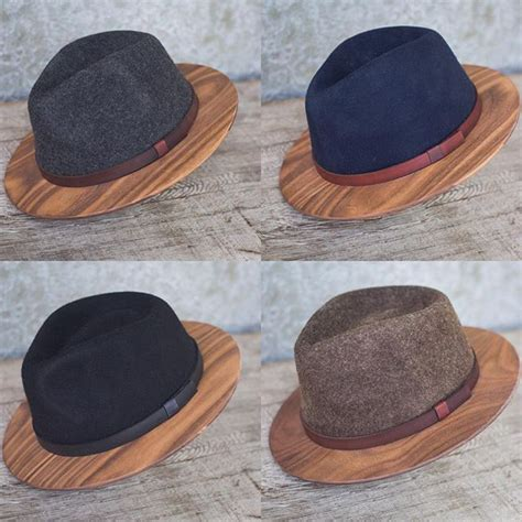 Sawdust Bow Tie new product wood brimmed fedoras fedoras posts and bow
