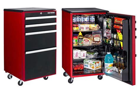 refrigerator in hot garage