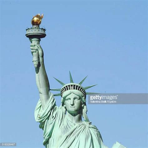 original statue of liberty color statue of liberty stock photos and pictures getty images