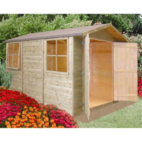 Wooden Garden Sheds 10 X 7 by 10 X 7 Tongue And Groove Apex Wooden Garden Shed