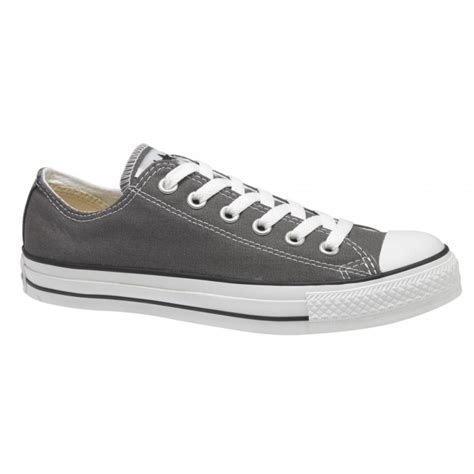 Converse All Ox Grey converse charcoal grey ox low chuck all