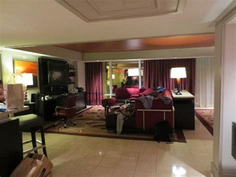 bedroom tower suite living area picture   mirage hotel casino las vegas tripadvisor