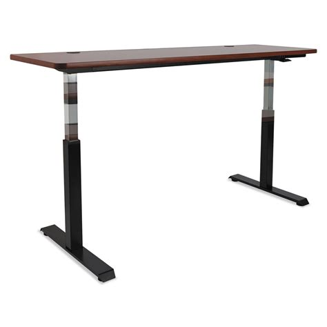 Adaptivergo Pneumatic Height Adjustable Table Base By Height Adjustable Desk Base