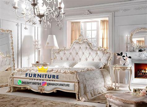 set kamar tidur mewah elegan istimewah furniture jepara jati