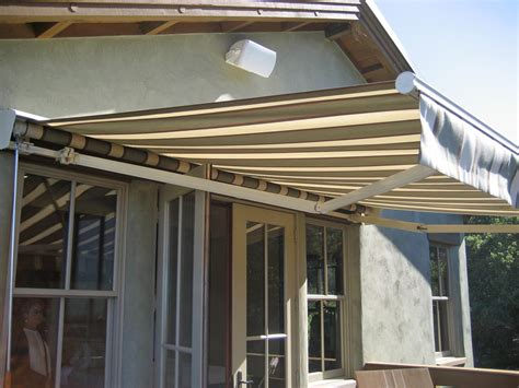 retractable canvas awnings retractable acme awning