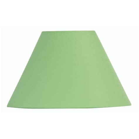 20 inch l shade lime green cotton coolie l shade 20 inch s501 20gr