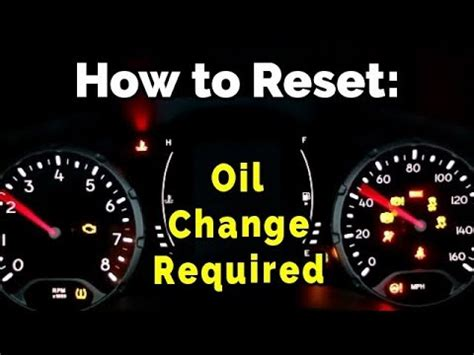 how to reset light jeep grand how to reset the change light on your jeep renegade