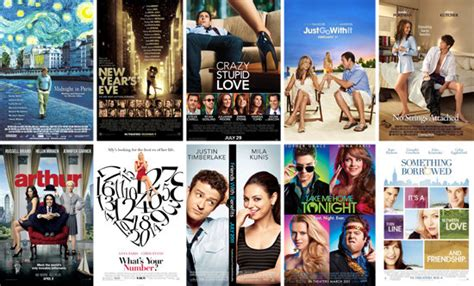 film romance recommended box office top hollywood romantic comedy movies