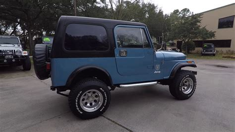 jeep light blue 1984 light blue jeep 4wd at select jeeps youtube