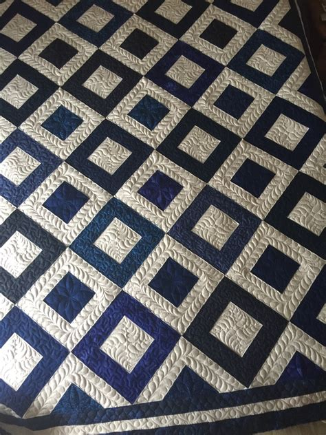 Quilting Board by Half Square Triangle Quilt
