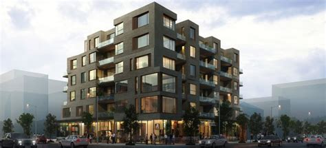 Garage Apartments t o s debut six storey wood frame development remi network