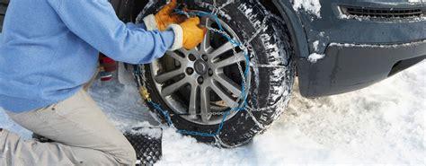 cadenas para nieve master chains control a skidding car winter driving skills