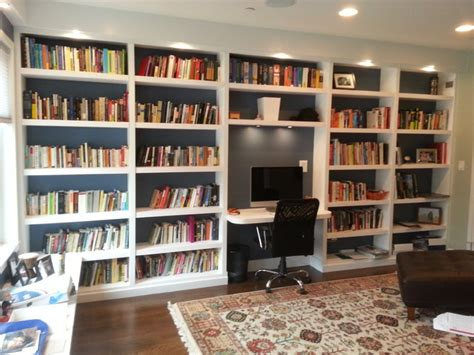 Home Bookshelf Bookshelves Contemporary Home Office Philadelphia