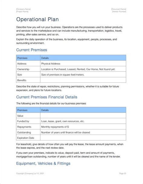 28 business plan templates for mac business plan