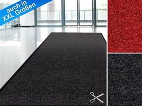schmutzfang teppich meterware schmutzfangmatte monochrom schutzmatten