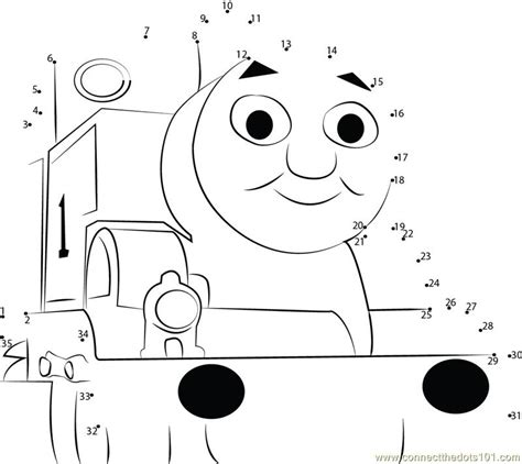 printable dot to dot train adorable thomas dot to dot printable worksheet connect