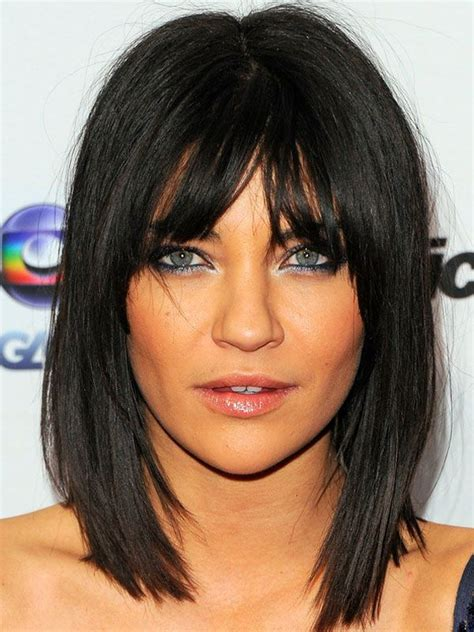 hairstyles for inverted triangle faces 32 best images about hair inspiration bangs on pinterest