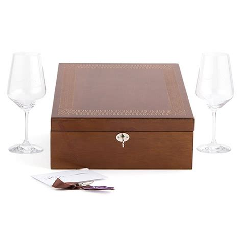 Letter Ceremony Box Set Wine Goblets Wedding Stationery Ceremony Wording Weddingstar
