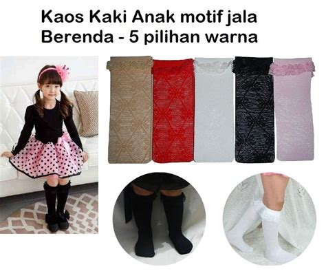 Kaos Kaki Anak 30 jual kaos kaki renda lace anak anak ag collection