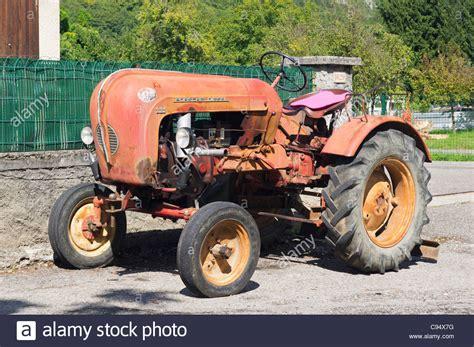 1950s porsche a 1950s porsche 111 single cylinder diesel tractor parked