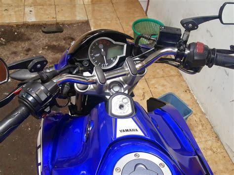 Alarm Buat Motor Vixion pasang stang r di new vixion cocok buat yang pake